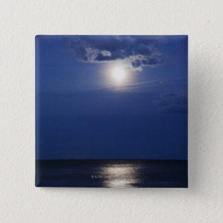 USA, New York, Queens, Rockaway Beach, Landscape 2 Pinback Button