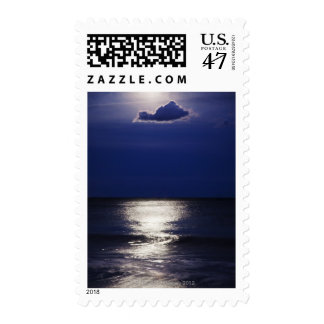 USA, New York, Queens, Rockaway Beach, Landscape Postage