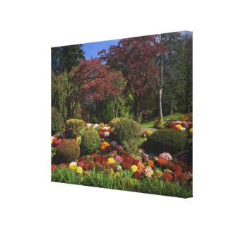 USA, New York, Saugerties, Seamon Park. Autumn Canvas Prints