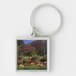 USA, New York, Saugerties, Seamon Park. Autumn Keychain
