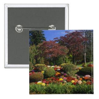 USA, New York, Saugerties, Seamon Park. Autumn Pinback Button