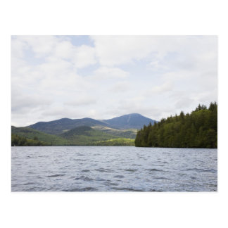 USA, New York State, Adirondack Mountains, Lake 4 Postcard
