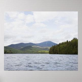 USA, New York State, Adirondack Mountains, Lake 4 Poster