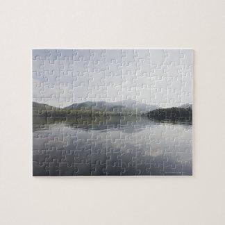 USA, New York State, Adirondack Mountains, Lake 6 Jigsaw Puzzle