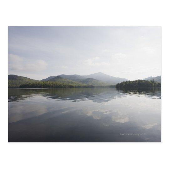 USA, New York State, Adirondack Mountains, Lake 6 Postcard