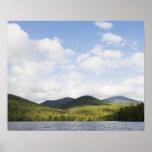 USA, New York State, Adirondack Mountains, Lake Poster