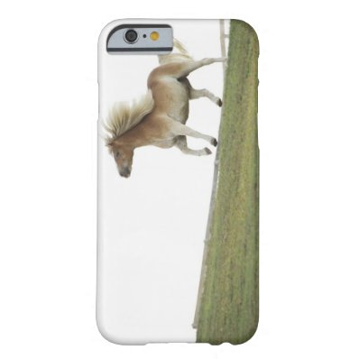 USA, New York State, Hudson, Horse running in 2 Barely There iPhone 6 Case