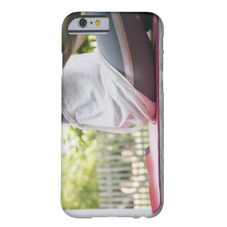 USA, New York State, Long Island, woman sitting Barely There iPhone 6 Case