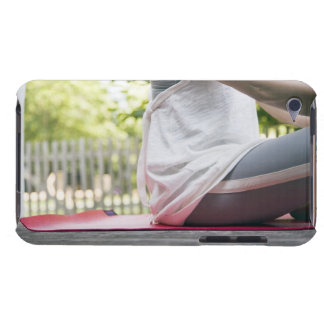 USA, New York State, Long Island, woman sitting iPod Touch Case-Mate Case