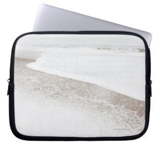 USA, New York State, Rockaway Beach, beach in Computer Sleeve