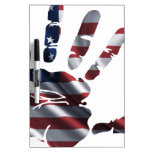 USA NICE HAND FLAG PRODUCTS Dry-Erase BOARD