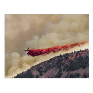 USA, North America, Colorado, Boulder, Flagstaff Postcard