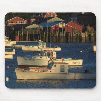 USA, North America, Maine, Bernard, Fishing Mouse Pad