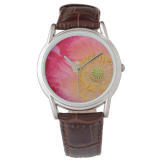 USA, North Carolina. Close-up of poppy interior Wrist Watches