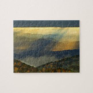 USA, North Carolina, Great Smoky Mountains. Jigsaw Puzzle