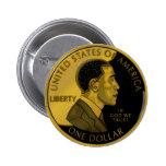 USA Obama Coin Button