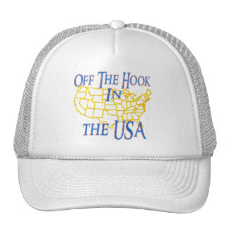 USA - Off The Hook Trucker Hat