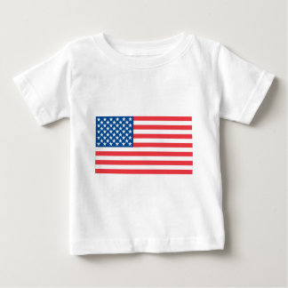 USA Official Flag Baby T-Shirt