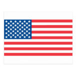 USA Official Flag Post Cards