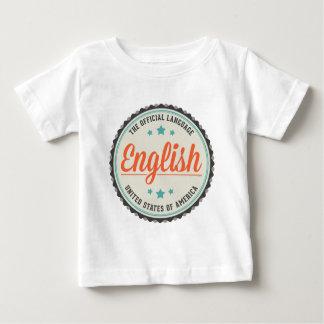 USA Official Language Shirts