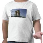 USA, Ohio, Cincinnati: Roebling Suspension 3 Tees