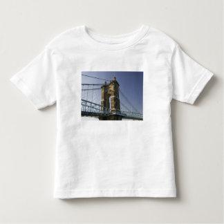 USA, Ohio, Cincinnati: Roebling Suspension 3 Toddler T-shirt