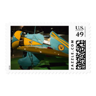 USA, Ohio, Dayton: US Air Force Museum and 2 Postage Stamp
