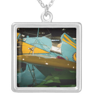 USA, Ohio, Dayton: US Air Force Museum and 2 Silver Plated Necklace
