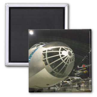 USA, Ohio, Dayton: US Air Force Museum and Fridge Magnets
