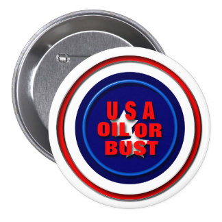 USA Oil or Bust Pins