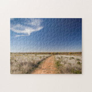 USA, Oklahoma, Black Kettle National Grasslands Jigsaw Puzzle