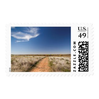 USA, Oklahoma, Black Kettle National Grasslands Postage