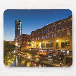 USA, Oklahoma, Oklahoma City, Bricktown Mouse Pad