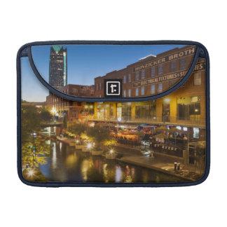 USA, Oklahoma, Oklahoma City, Bricktown Sleeve For MacBook Pro