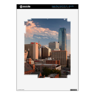 USA, Oklahoma, Oklahoma City, Elevated City iPad 3 Skin