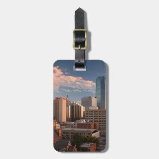 USA, Oklahoma, Oklahoma City, Elevated City Luggage Tag