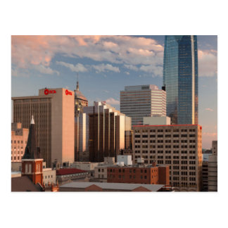 USA, Oklahoma, Oklahoma City, Elevated City Postcard
