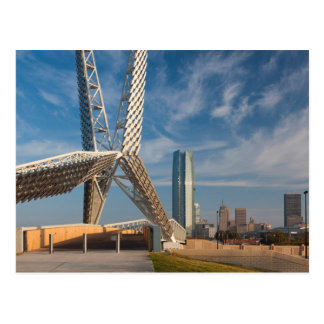 USA, Oklahoma, Oklahoma City, Skydance Postcard