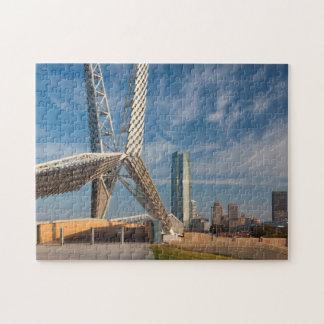 USA, Oklahoma, Oklahoma City, Skydance Puzzle
