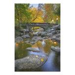 USA, Oregon, Ashland, Lithia Park. Autumn Photo Print
