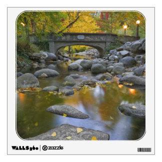 USA, Oregon, Ashland, Lithia Park. Autumn Wall Sticker