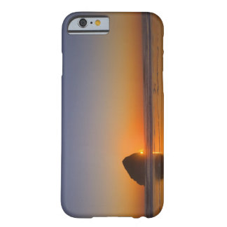USA, Oregon, beach with stack rock Barely There iPhone 6 Case