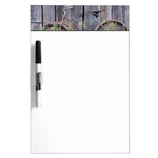 USA, Oregon, Bend. A dilapidated old bike Dry-Erase Board
