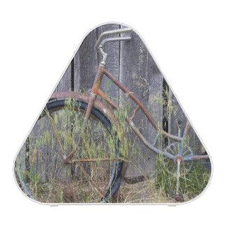 USA, Oregon, Bend. A dilapidated old bike Speaker