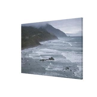 USA, Oregon, Coastline Canvas Print