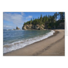 USA, Oregon, coastline Card