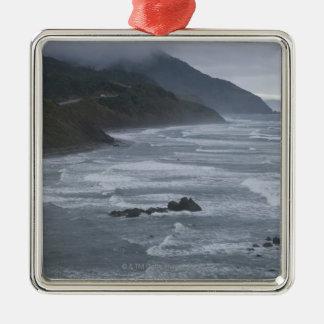 USA, Oregon, Coastline Christmas Tree Ornament