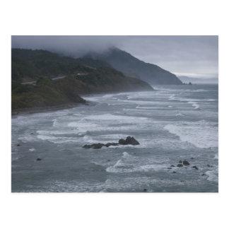 USA, Oregon, Coastline Postcard