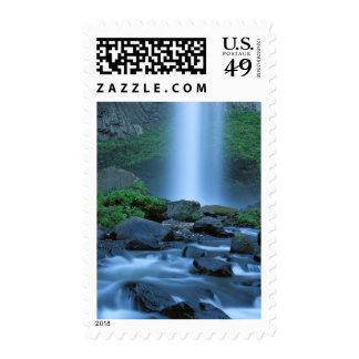 USA, Oregon, Columbia Gorge, Latourell Falls Stamp