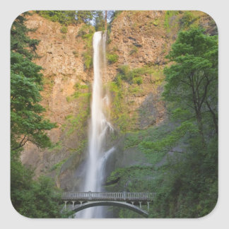 USA, Oregon, Columbia River Gorge, Multnomah Square Sticker